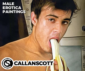 Male Erotica Paintings by Callan Scott